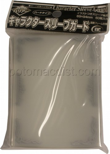 KMC Standard Oversized Deck Protectors Pack - Character Guard [Silver]