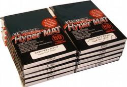 KMC Card Barrier Mat Series Standard Size Sleeves - Hyper Matte Green [10 packs]