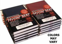 KMC Card Barrier Mat Series Standard Size Deck Protectors - Hyper Matte Custom Mix [10 packs]