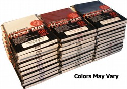 KMC Card Barrier Mat Series Standard Size Sleeves - Hyper Matte Mixed Colors Case [30 packs]