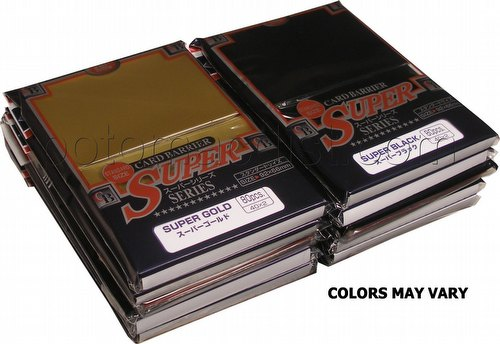 KMC Super Series Standard Size Deck Protectors - Mix of Colors [10 packs/Our choice of colors]