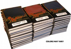 KMC Standard Size Sleeves - Matte Sleeves Case [30 packs/Mixed Colors]