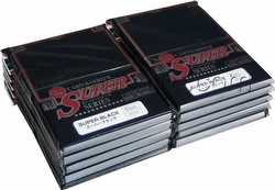 KMC Card Barrier Super Series Standard Size Sleeves - Super Black [10 packs]