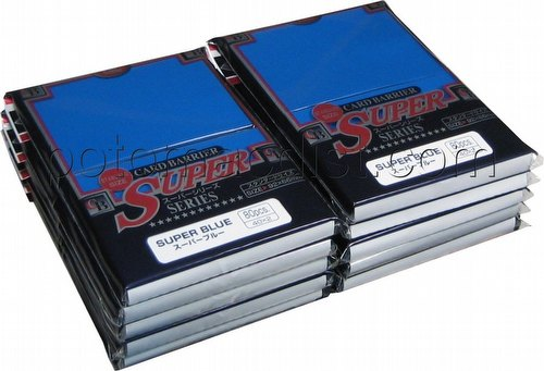 KMC Card Barrier Super Series Standard Size Sleeves - Super Blue [10 packs]