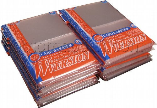 KMC Standard Size Sleeves - Clear [10 packs]
