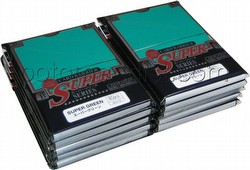 KMC Card Barrier Super Series Standard Size Sleeves - Super Green [10 packs]