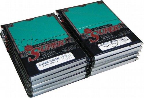 KMC Card Barrier Super Series Standard Size Deck Protectors - Super Green [10 packs]