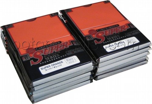 KMC Card Barrier Super Series Standard Size Sleeves - Super Orange [10 packs]