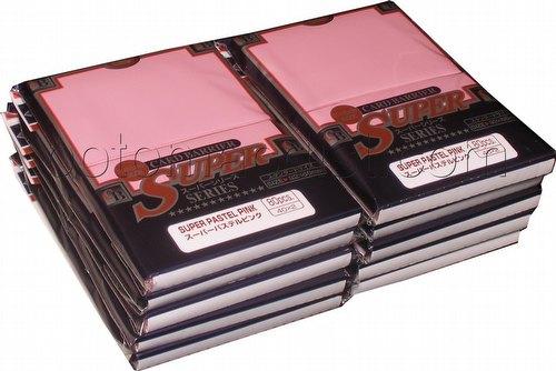 KMC Card Barrier Super Series Standard Size Deck Protectors - Super Pastel Pink [10 packs]