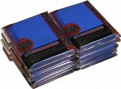KMC Card Barrier Mini Series Yu-Gi-Oh Size Deck Protectors - Blue [10 packs]