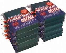 KMC Card Barrier Hyper Mat Mini Yu-Gi-Oh Size Sleeves - Hyper Matte Green [10 packs]