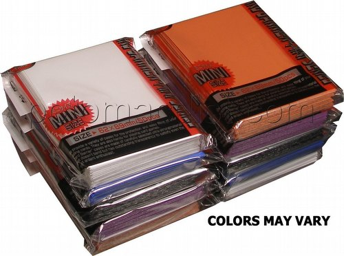 KMC Card Barrier Mini Series Yu-Gi-Oh Size Deck Protectors - Mix of Colors [Our Choice]