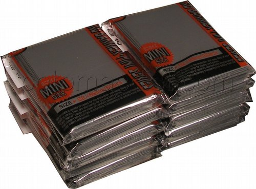 KMC Card Barrier Mini Series Yu-Gi-Oh Size Sleeves - Silver [10 packs]