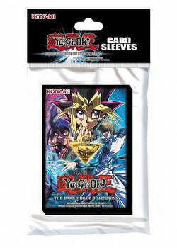 Konami Yu-Gi-Oh The Dark Side of Dimensions Card Sleeves (Deck Protectors) Box
