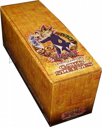 Yu Gi Oh Card Back: Konami YuGiOh Sleeves - Yu-Gi-Oh Card Back Box