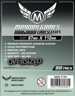 Mayday Munchkin Dungeon Board Game Sleeves Pack [87mm x 112mm]