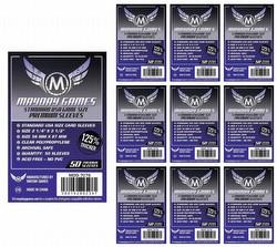 Mayday Standard USA American Premium Board Game Sleeves [10 Packs/56mm x 87mm]