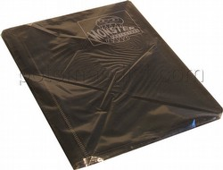 Monster Mini Matte Black 4-Pocket Binder