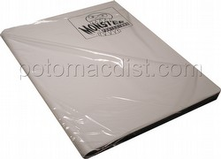Monster Matte White 9-Pocket Binder