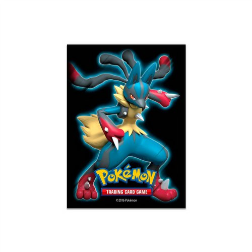 Pokemon Shiny Mega Lucario Card Sleeves Pack