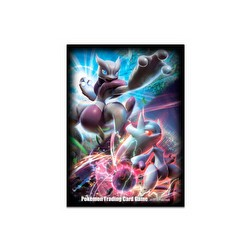 Pokemon Mega Mewtwo X & Mewtwo Y Card Sleeves Pack