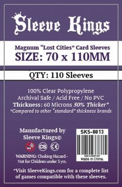 Sleeve Kings Magnum Lost Cities Board Game Sleeves Pack [70mm x 110mm/10 packs]