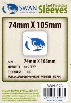 Swan Panasia 74mm x 105mm Premium Board Game Sleeves Pack