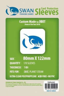 Swan Panasia Dixit Board Game Sleeves Pack [80mm x 122mm]
