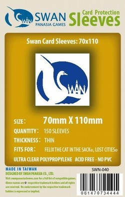 Swan Panasia Lost Cities Board Game Sleeves Pack [70mm x 110mm]