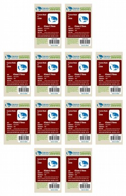 Swan Panasia Mini European Game Sleeves [10 Packs/45mm x 70mm]