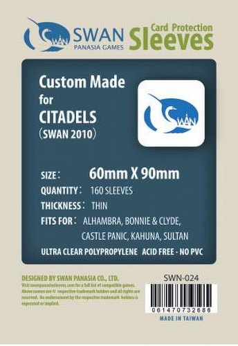 Swan Panasia Standard Chimera Board Game Sleeves Pack [60mm x 90mm]