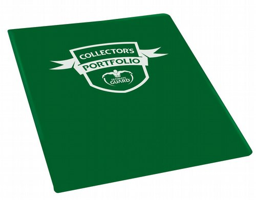 Ultimate Guard Green 4-Pocket Portfolio Case [18 Portfolios]