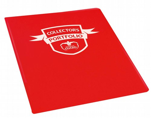 Ultimate Guard Red 9-Pocket Portfolio Case [18 Portfolios]