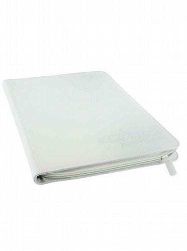 Ultimate Guard XenoSkin White 9-Pocket ZipFolio