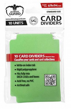 Ultimate Guard Green Card Dividers Pack