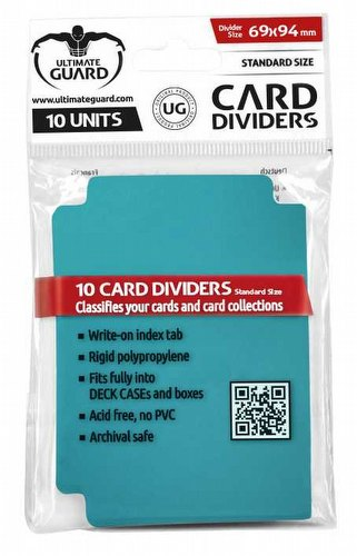 Ultimate Guard Petrol Blue Card Dividers Pack