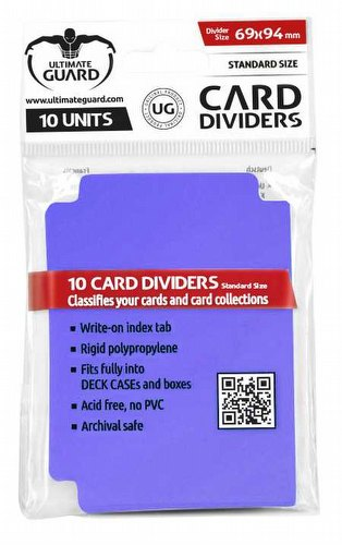 Ultimate Guard Purple Card Dividers Pack