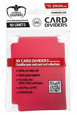 Ultimate Guard Red Card Dividers Pack
