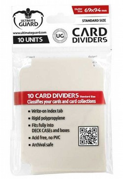 Ultimate Guard Sand Card Dividers Pack