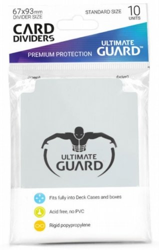Ultimate Guard Transparent Card Dividers [10 Packs]