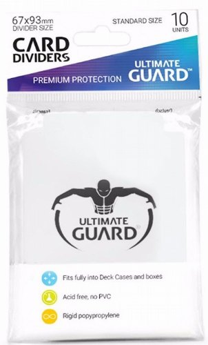 Ultimate Guard White Card Dividers Pack