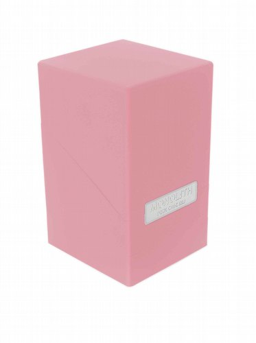 Ultimate Guard Pink Monolith Deck Case 100+
