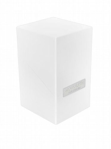 Ultimate Guard White Monolith Deck Case 100+