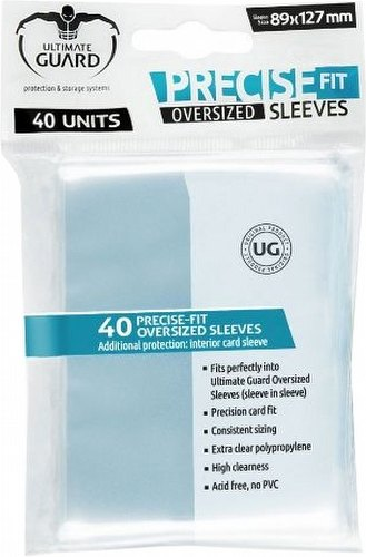 Ultimate Guard Oversized Precise-Fit Sleeves Pack [40 sleeves]