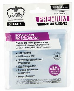 Ultimate Guard Premium Big Square Board Game Sleeves Pack