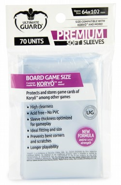 Ultimate Guard Premium Koryo Board Game Sleeves Pack