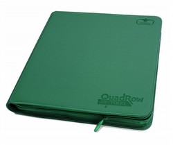 Ultimate Guard XenoSkin Green QuadRow ZipFolio