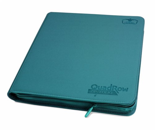 Ultimate Guard XenoSkin Petrol QuadRow ZipFolio