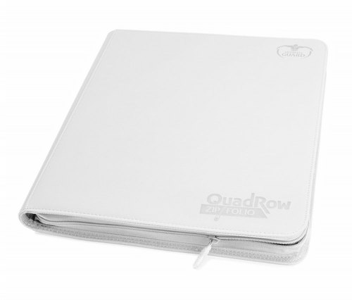 Ultimate Guard Xenoskin White QuadRow ZipFolio