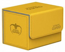 Ultimate Guard Sidewinder Xenoskin Amber Deck Case 100+